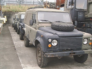 Ex army vehicles